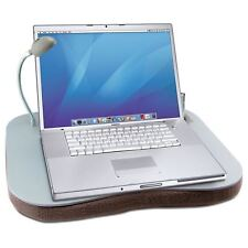 Laptop Cushion Portable Reading Lap Top Tray Table With 5 Led Light & Cup Holder