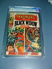 AMAZING ADVENTURES #1 CGC 8.0 OW/W 1st BLACK WIDOW CURRENT COSTUME & SOLO STORY