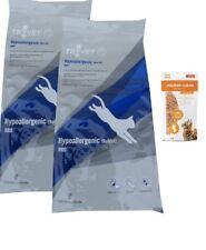 2x3kg Trovet RRD Hypoallergenic Kaninchen Diät Katzenfutter+ 85g Frischebeutel
