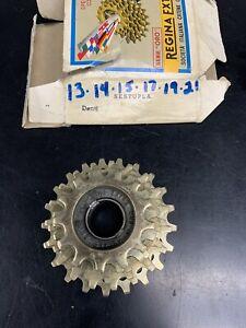 Vintage NOS Regina Extra 6 Speed Gold Freewheel 13-21 NIB