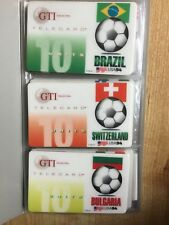 World Cup USA 94 - Complete Set Of 25 Cards + COA
