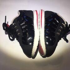 Toddler Boy's Lugz  Boots Solid Black  Lace-Up Shoes Size 7 EUC
