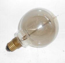 Uralte OSRAM Glühbirne Kohlefaden mit Spitze Gute Industrie Oppeln vor 1945 !