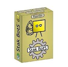 Juego de expansión Stak bots Amarillo Totalmente Nuevo Y Sellado!!! Liquidación!!!
