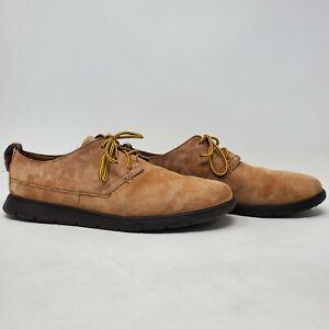 UGG AUSTRALIA SLIPPER BOWMORE CHESTNUT Mens Shoes 1006692 ORIGINAL Size 9.5