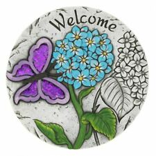 New listing Welcome Butterfly Garden Stepping Stone