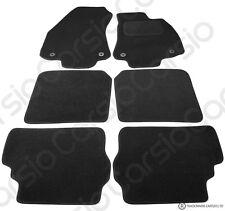 VAUXHALL ZAFIRA 1998-2005 TAILORED FLOOR CAR MATS CARPET BLACK MAT PINK TRIM