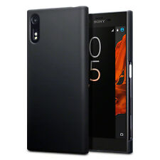 Xperia XZ Micro Skin Impact Displacement Hard Composite Rubberised Case Black