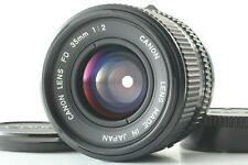 【 MINT 】 Canon New FD NFD 35mm f/2 Wide Angle MF Lens from JAPAN #1656