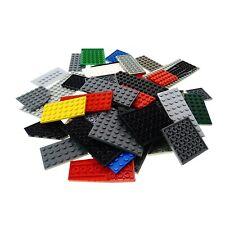 50 x Lego System Platten Platte zufällig bunt gemischt Bauplatte Grundplatte  k1