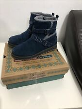 Skechers Warm Tech Memory Foam Hi Tops Women Boots UK size 5