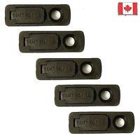 RUBBER SEALS GASKETS FOR ZIPPO ** Value pack of 5 ** Replaces lighters felt pad