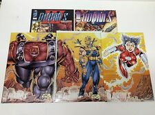 DOOM's IV #1-3 (IMAGE/ROB LIEFELD CONNECTING VARIANTS/111644) FULL SET LOT OF 5