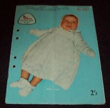 VINTAGE PATONS BOOK 687 - Baby Patterns