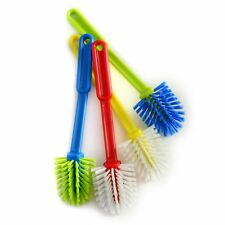Norpro 1070 Dish Brush With Scraper End  Assorted Colors