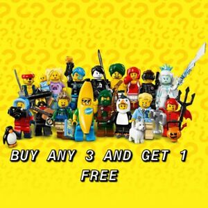 LEGO MINIFIGURES SERIES 16 PICK YOUR OWN BUY ANY 3 GET 1 FREE NEW & UNOPENED