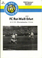 FDGB-Pokal 78/79 1. FC Lok Leipzig - FC Rot-Weiß Erfurt, 20.12.1978