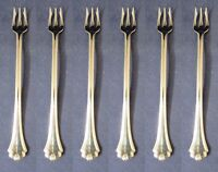 SET OF SIX - Oneida Stainless MIDTOWNE Cocktail Forks USA