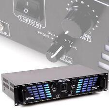 2400 Watt PA-Verstärker Party AUX Musikverstärker DJ Endstufe Liston 800 silber