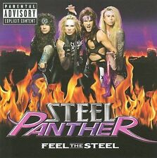 Steel Panther  - Feel the Steel [PA] (CD, Oct-2009, Island/Universal Republic)