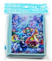 Pokemon Center TCG Japanese Oceanic Operetta Vaporeon Show 64 Card Deck Sleeves