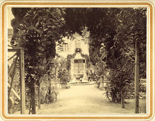 2 Photos Albuminés Venezia Ile Saint Lazare Monastère Arménien Venise Vers 1880
