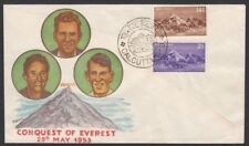 INDIA 1953 EVEREST ILLUSTRATED FDC (ID611/D33014)