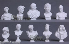 10pcs Sculpture Drawing Sketch Plaster Reference Cast Figure Statue Model Decor