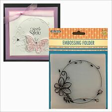 Flowers Frame embossing folder EFE023 - Nellie Snellen embossing folders 5x5