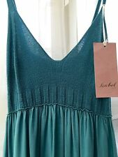 Cotton Blend Summer/Beach Patternless Maxi Dresses for Women