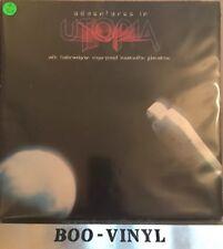 UTOPIA adventures in utopia ILPS 9602 uk LP todd rundgren Ex Con