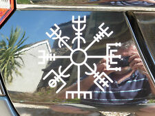Icelandic rune Tumbl Vegvisir gods myths stickers/car/van/bumper/window/decal