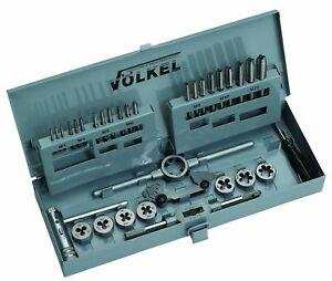 Volkel HSS Metric Tap & Die Set M3-M12, Model No 49581.