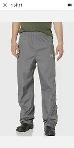 NEW HUK Performance Fishing CYA Packable WATERPROOF Rain Pants Gray Size Medium
