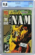 S978. THE 'NAM #69 Marvel CGC 9.8 NM/MT 1992 FRANK CASTLE (Punisher) Cover & App