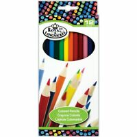 Royal & Langnickel pack of 12 Colouring Pencils