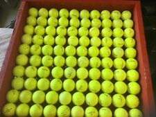 100 used golf balls Pinnacle Gold brand, Great Condition Yellow 4A, Aaaa