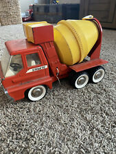 Structo 1966 Cement Mixer Pressed Tin Toy