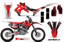 Honda CRF 450R Graphic MX Kit AMR Racing # Plate Decal Sticker Part 13-14 CBN X