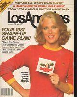 JAN 1981 - LOS ANGELES local news magazine MARIETTE HARTLEY