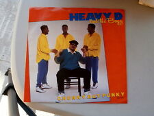 HEAVY D AND THE BOZZ~CHUNKY BUT FUNKY~NEAR MINT~RARE  PROMO~MCA 53045~~ FUNK  45