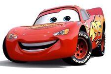 Disney's Cars Lightning McQueen Round Edible Cake Image Topper Frosting Sheet