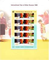 1999 International Year of Older Person - Sheetlet Pack