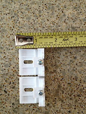 "Qty.(2) Mounting Bracket Hunter Douglas 3/8""  Honeycomb Cellular Applause Shade"