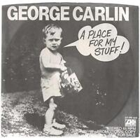 "George Carlin, ""A Place for My Stuff!""; 7"" Promo 45"