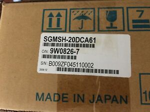 SGMSH-20DCA61  YASKAWA ELECTRIC  Servo Motor NEW IN BOX