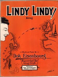 Lindy Lindy 1927 Charles Lindbergh