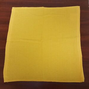 "15"" x 15"" Hand Towels - 24 Gold (123) Towels 100% Cotton All Terry Hemmed"