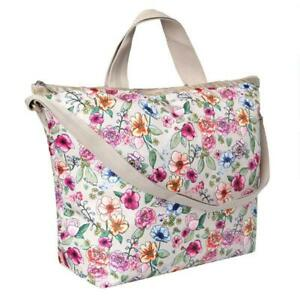 LeSportsac Classic Collection Deluxe Easy Carry Tote in Sunshine Garden NWT