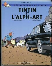 Tintin et l'Alph-Art Yves Rodier Hergé (pastiche)
